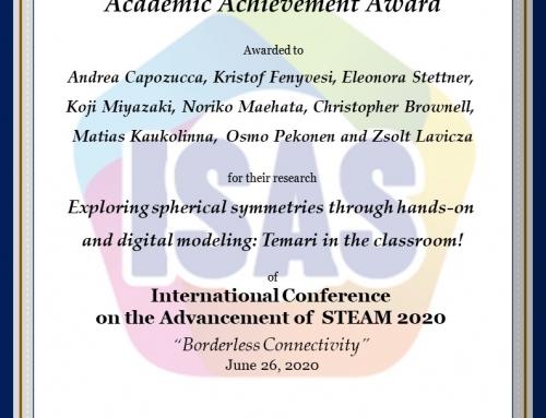 Nuovo Award per Andrea Capozucca!